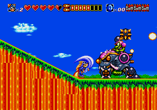 Sparkster screenshot