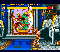 Street Fighter II' - Special Champion Edition [Model T-12016] screenshot