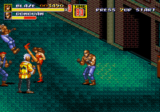 Streets of Rage 2 [Model 1054] screenshot
