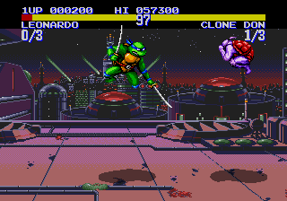 Teenage Mutant Ninja Turtles - Tournament Fighters screenshot