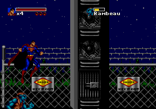 The Death and Return of Superman screenshot
