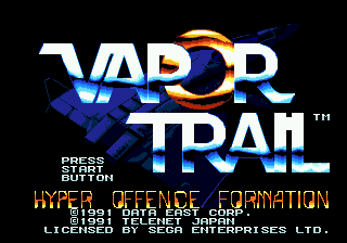 Vapor Trail screenshot