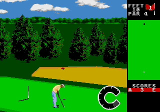 World Class Leaderboard Golf screenshot
