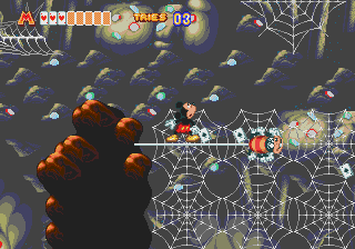 World of Illusion Starring Mickey Mouse and Donald Duck screenshot