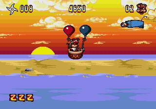 Zero the Kamikaze Squirrel screenshot