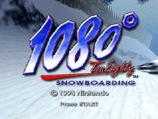 1080° Snowboarding [Model NUS-NTEP-EUR] screenshot