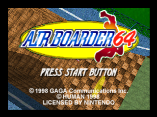 Air Boarder 64 screenshot