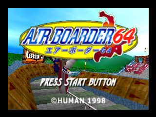 Air Boarder 64 [Model NUS-NABJ] screenshot