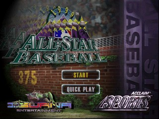 All-Star Baseball '99 [Model NUS-NBSE-USA] screenshot