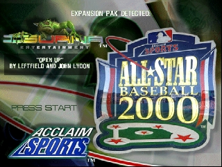 All-Star Baseball 2000 [Model NUS-NBBE-USA] screenshot