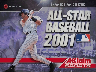All-Star Baseball 2001 [Model NUS-NASE-USA] screenshot