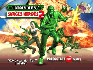 Army Men - Sarge's Heroes 2 [Model NUS-N32E-USA] screenshot