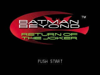 Batman Beyond - Return of the Joker [Model NUS-NJQE-USA] screenshot