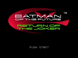Batman of the Future - Return of the Joker screenshot