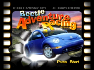 Beetle Adventure Racing! [Model NUS-NNSE-USA] screenshot