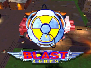 Blast Corps [Model NUS-NBCE-USA] screenshot