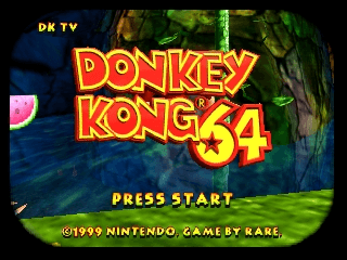 Donkey Kong 64 [Model NUS-NDOP-EUR] screenshot