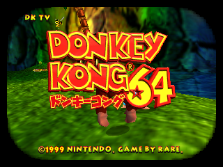 Donkey Kong 64 [Model NUS-NDOJ-JPN] screenshot