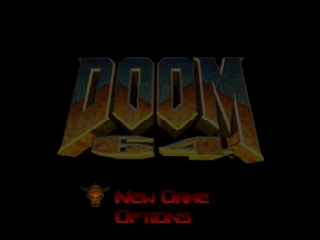 Doom 64 [Model NUS-NDME-USA] screenshot