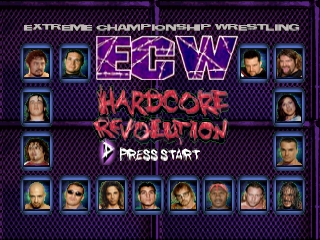 ECW Hardcore Revolution screenshot