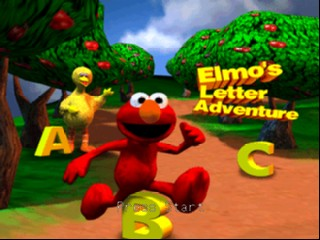 Elmo's Letter Adventure screenshot