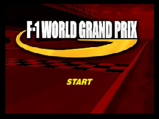 F-1 World Grand Prix [Model NUS-NFWE-USA] screenshot