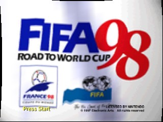 FIFA 98 - Road to World Cup [Model NUS-N8IE-USA] screenshot