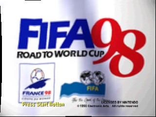 FIFA 98 - World Cup e no Michi [Model NUS-N8IJ] screenshot