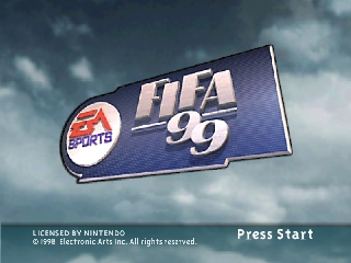 FIFA 99 [Model NUS-N9FE-USA] screenshot