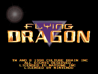 Flying Dragon screenshot