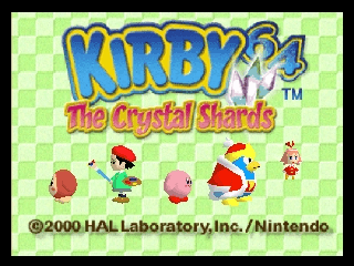 Kirby 64 - The Crystal Shards [Model NUS-NK4E-USA] screenshot