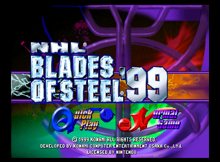 NHL Blades of Steel '99 screenshot