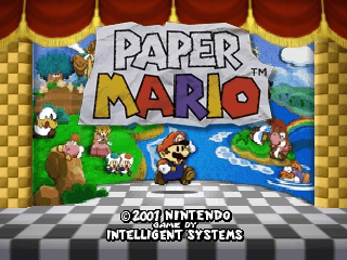 Paper Mario [Model NUS-NMQP-EUR] screenshot