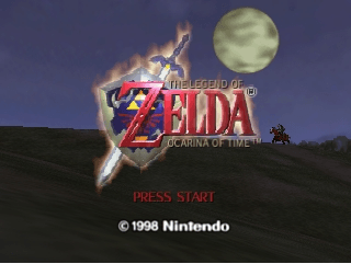 The Legend of Zelda - Ocarina of Time screenshot