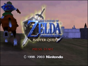 The Legend of Zelda - Ocarina of Time - Master Quest screenshot