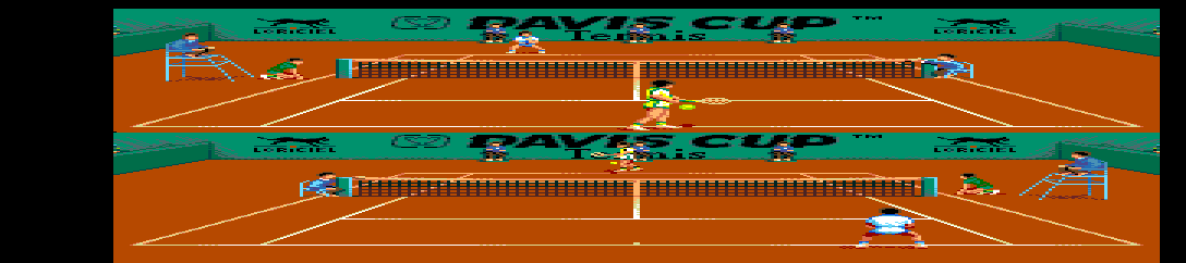 The Davis Cup Tennis screenshot