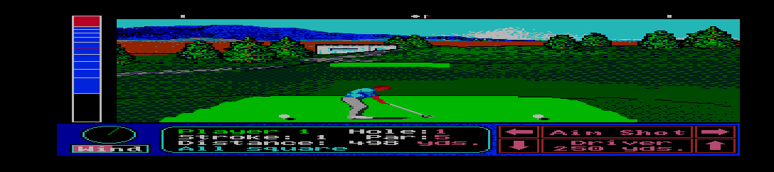 Jack Nicklaus Turbo Golf [Model ATGXCDJTTC] screenshot