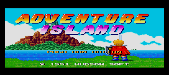 Adventure Island [Model HC91035] screenshot