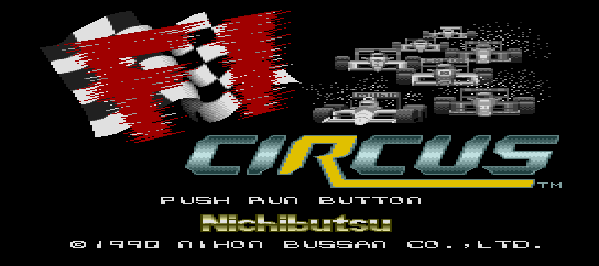 F1 Circus [Model NB90002] screenshot