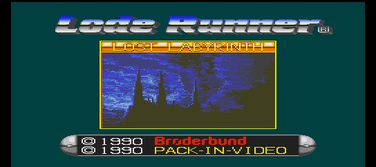 Lode Runner - Lost Labyrinth screenshot