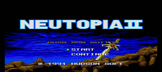 Neutopia II [Model HC91047] screenshot