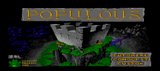 Populous [Model HC91041] screenshot