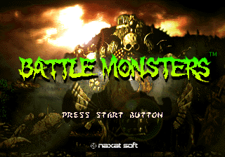 Battle Monsters [Model T-18701G] screenshot