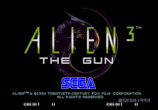 Alien³ - The Gun screenshot