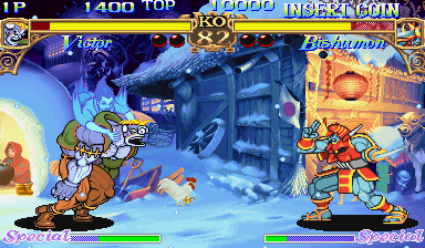 Darkstalkers - The Night Warriors [Blue Board] screenshot