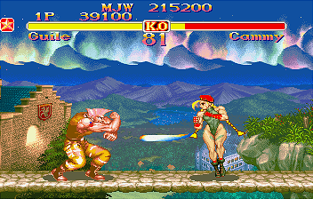 Street Fighter Collection [Model T-1223G] [Disc 1] screenshot