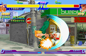 Street Fighter Zero [Model T-1206G] screenshot