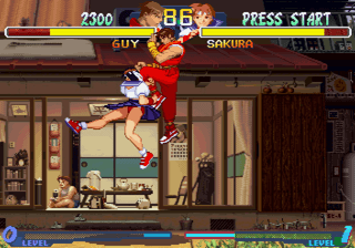 Street Fighter Zero 2 [Model T-1212G] screenshot