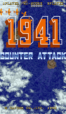 1941 - Counter Attack [B-Board 89625B-1] screenshot