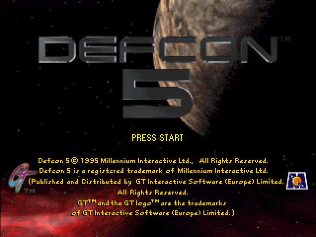Defcon 5 [Model T-1301H] screenshot